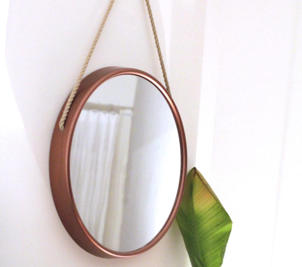 Ronde spiegel met touw van voor with ronde spiegel met for Ronde spiegel met touw
